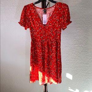 NWT Wild Fable Sun Dress sundress empire waist